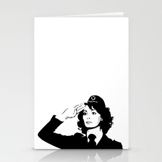 La Poliziotta Stationery Card