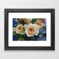 Rose Pattern #2 Framed Art Print