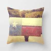 Deep in the heart of texas { You've got mail series 2012} Throw Pillow