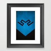 Blue Beetle Framed Art Print