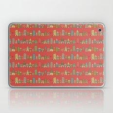 City {Housylands - red} Laptop & iPad Skin