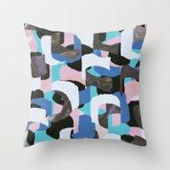 PatternM08 Throw Pillow