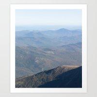 New Hampshire - Long Art Print