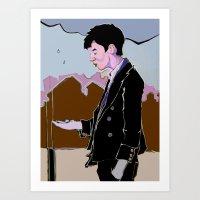 Rainman Art Print