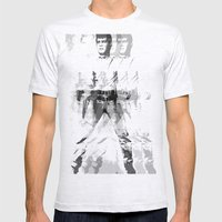 FPJ gray mix Mens Fitted Tee Ash Grey SMALL