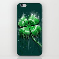Melting Luck iPhone & iPod Skin
