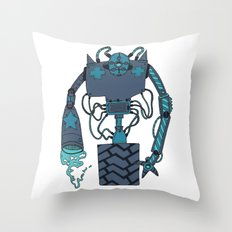The drone Throw Pillow