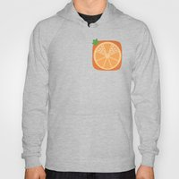Orange Heart Hoody