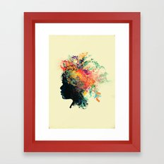 Wildchild (aged ver) Framed Art Print