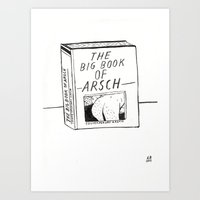 The Big Book Of Arse Art Print