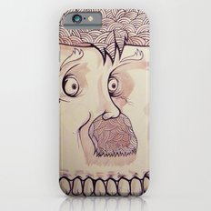In Your Face Mr. Moustache iPhone 6 Slim Case