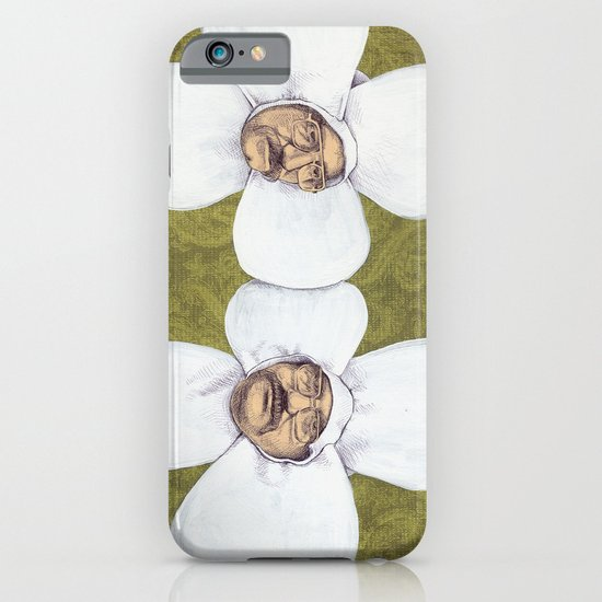 Flower Men iPhone & iPod Case