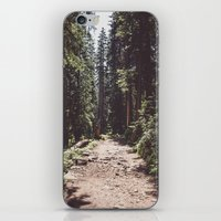 Entering The Wilderness iPhone & iPod Skin