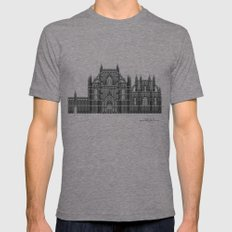 HexArchi - Portugal, Bat… Mens Fitted Tee Tri-Grey SMALL
