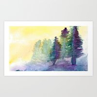 Art Print featuring In The Pines by Eric Weiand