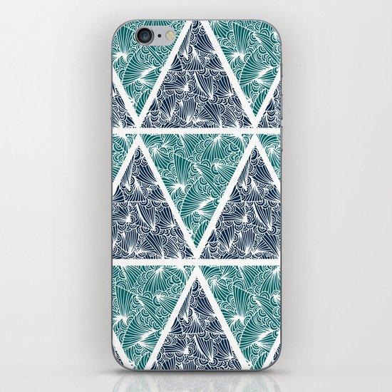 Geometric Paradise iPhone & iPod Skin
