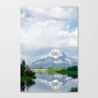 MORNING GRAND Canvas Print
