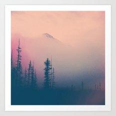 Frozen Forest Art Print