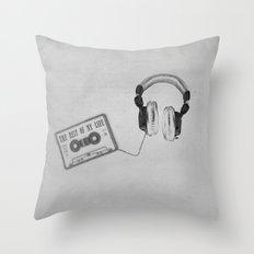 Music, please! Throw Pillow
