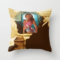 The Pillow~ 09/13/13 Friday Throw Pillow