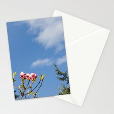 Sky flowers Stationery Cards
