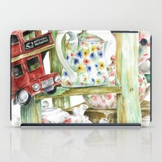 Alice's Teapots iPad Case