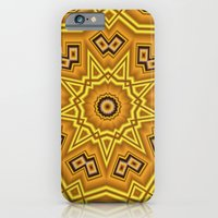 iPhone & iPod Case featuring Liquid Gold Nuggets by Silentwolf