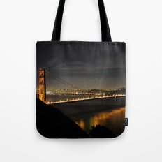 Golden Gate Bridge @ Night Tote Bag