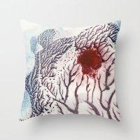Nurtured Germination Throw Pillow