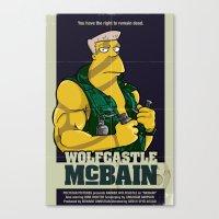 McBain Canvas Print