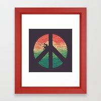 The Pacific Ocean Framed Art Print