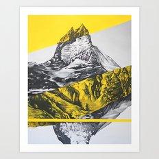 brocken mountain Art Print