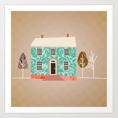 Home is Where the Art Is.  Art Print