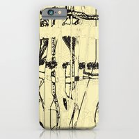 iPhone & iPod Case featuring Plaid de mode by Tracey Kessler