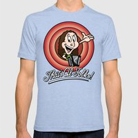 That's Al Folks! (Modern… Mens Fitted Tee Tri-Blue SMALL