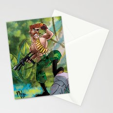 Going Commando Stationery Cards
