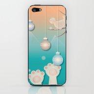The Christmas Window iPhone & iPod Skin