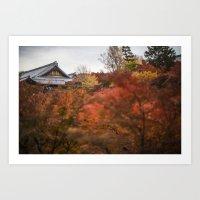 Kyoto In The Fall 2014 I… Art Print