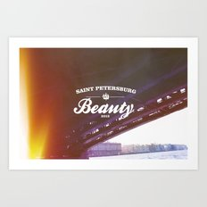 Beloved city Art Print