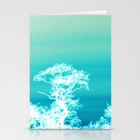 Negative Trees Stationery Cards