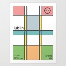 lublin single hop Art Print