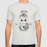 Void In Your Eyes Mens Fitted Tee Silver SMALL