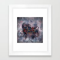 Abstract Wash 3 Framed Art Print