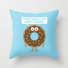 It's Not All Rainbow Sprinkles... Throw Pillow