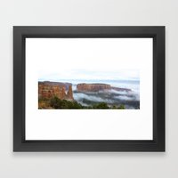 Cloud Flow Framed Art Print