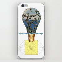 Ideas Come, Ideas Go iPhone & iPod Skin