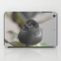 A Black Rose for your Sweetheart iPad Case