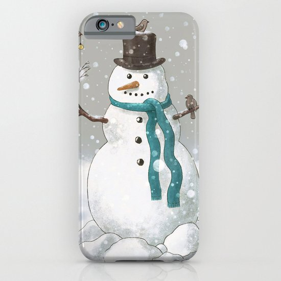 Christmas Snowman  iPhone & iPod Case