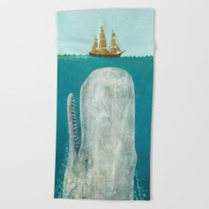 The Whale  Beach Towel