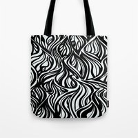 Back to Black 1  Tote Bag